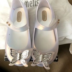 Mini Melissa butterfly shoes
